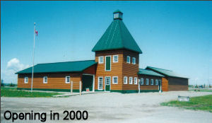 Museum, as it was rebuilt for year 2001 opening